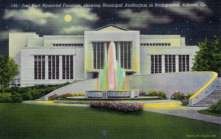 Atlanta Municipal Auditorium Postcard